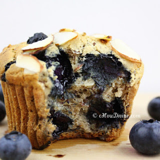 Totally Guilt-Free, Gluten-Free Blueberry Muffins