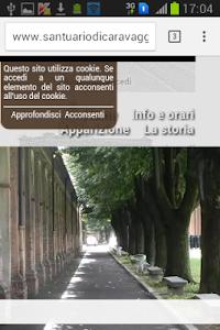Nossa Senhora de Caravaggio screenshot 1