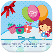 Make Birthday Card with Photo & Name APK