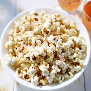 Cheesy Garlic healthy Popcorn
