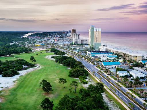 View of Panama City Beach