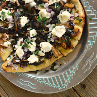 What'S for Dinner or Wild Mushroom Grilled Pizza Recipe