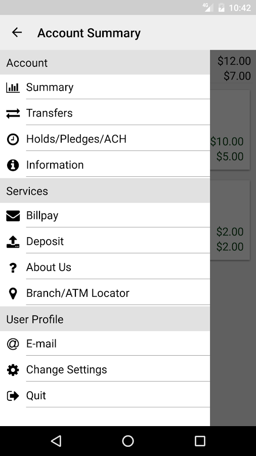 Granite Hills Credit Union- screenshot
