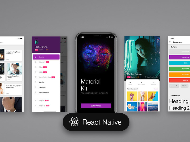 React Native UI Сomponents