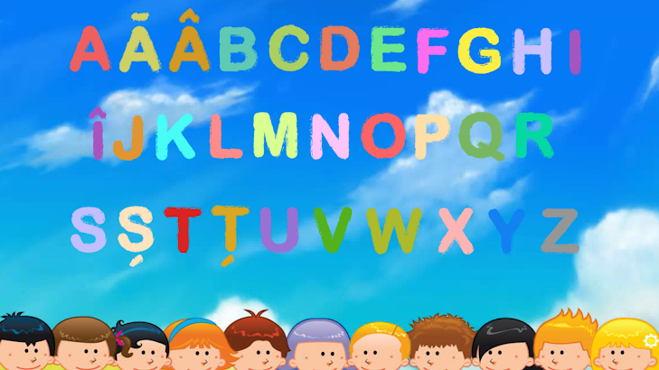 Abecedar romanesc pentru copii screenshot