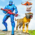 Police Robot Animal Rescue: Police Robot Games icon