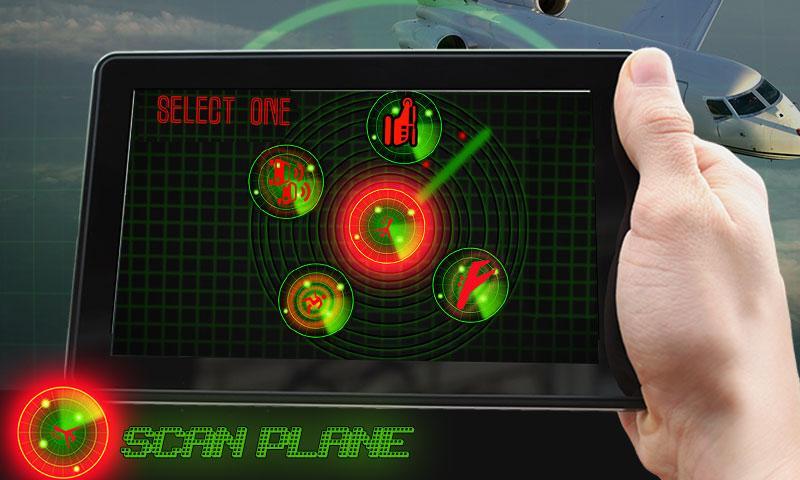 android Radar Scanner 3d Sim Prank Screenshot 1