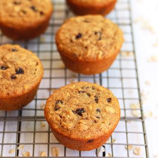 Toaster Oven Oatmeal Raisin Muffins