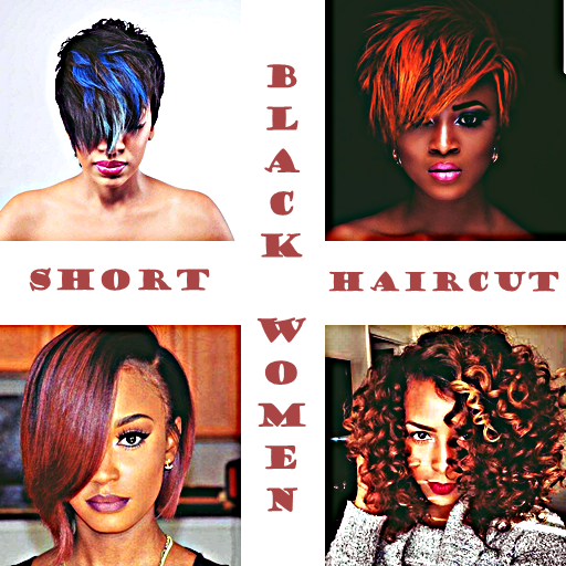 New Trend Black Women Short Haircuts Apps Bei Google Play