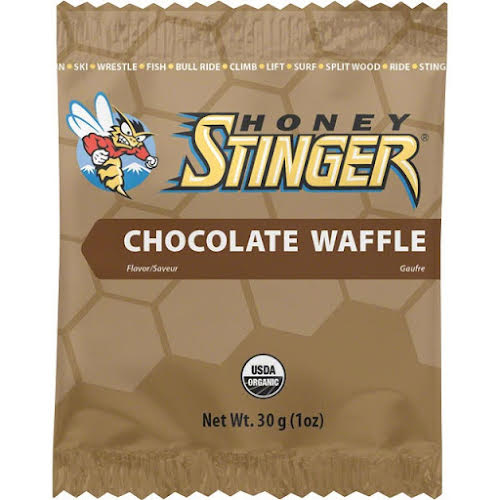 Honey Stinger Organic Stinger Waffle: Chocolate; Box of 16