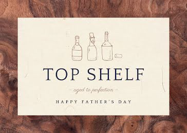 Aged to Perfection - Father's Day Card Template