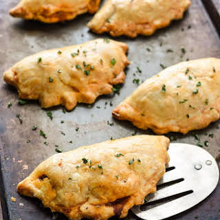 Cheesy Ground Beef Empanadas.