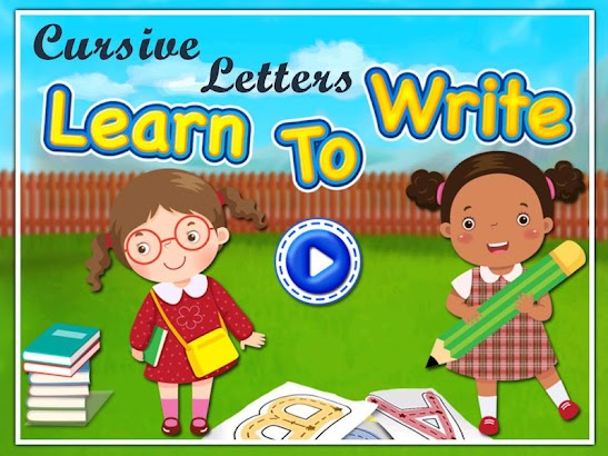 Toddlers Abc Cursive Writing- screenshot thumbnail