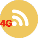 4G web browser internet icon