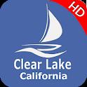 Clear Lake  - California Offline Fishing Charts icon