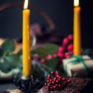 VEGAN Christmas Fruit Cake.