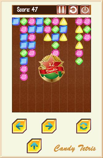 Candy Tetris Puzzle