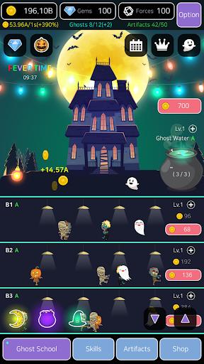 Merge Ghosts: Idle Clicker 1.0.0.4 screenshots 1