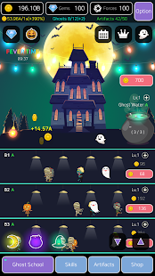 Merge Ghosts: Idle Clicker Screenshot