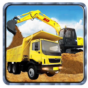 Sand Excavator Transport Truck for PC and MAC