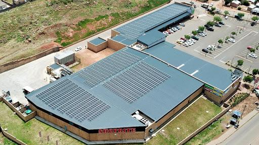 Shoprite Devland (Soweto) has solar PV panels installed.