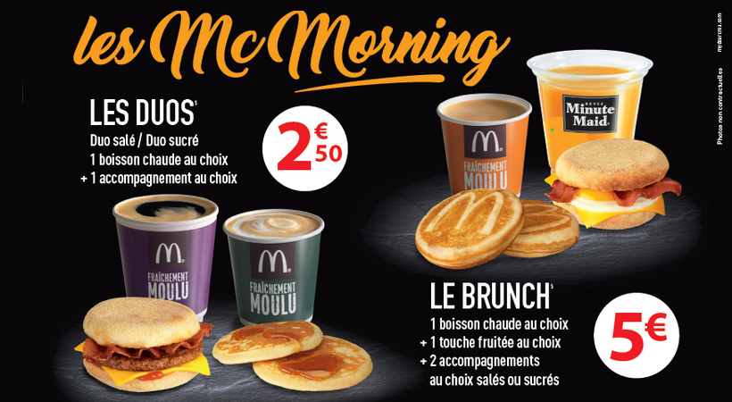 Mcd Breakfast in France