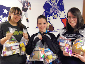 Photo: Vici, Kylee & Joanna April 21, 2013 ~ United Way's Star Project Competition.