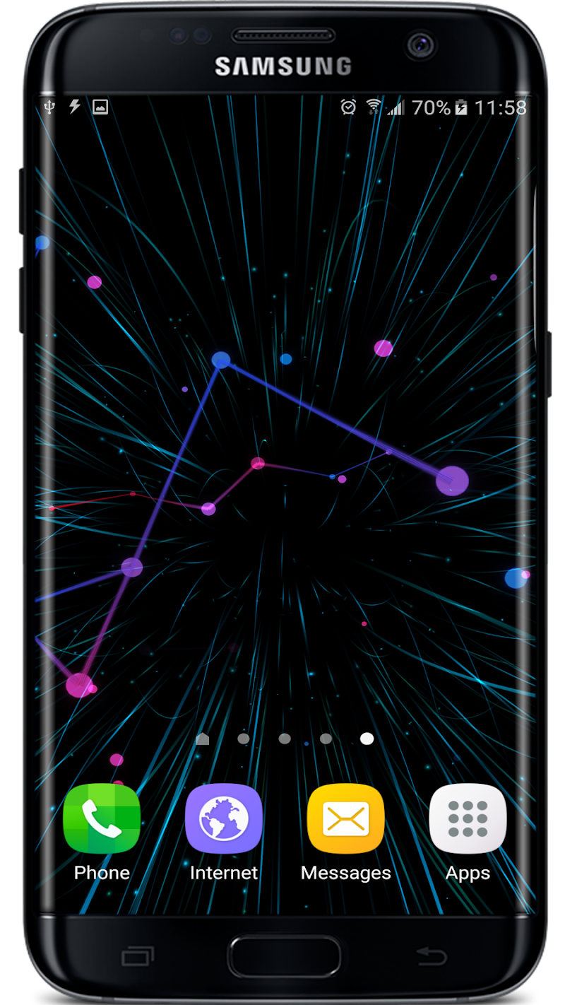 Abstract Particles Wallpaper Screenshot 7