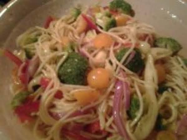 Spaghetti Salad Sunrise