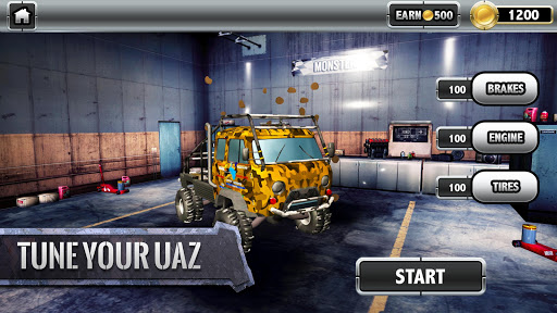 ud83dude97ud83cudfc1UAZ 4x4: Dirt Offroad Rally Racing Simulator android2mod screenshots 12