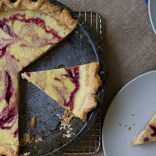 Raspberry Buttermilk Pie