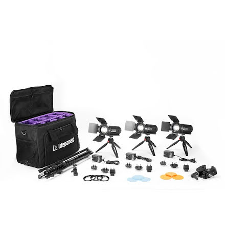 Caliber 3-Light Kit - Litepanels