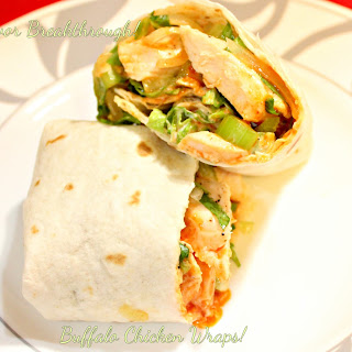 Buffalo Chicken Wrap Tortilla Recipes