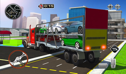 Cargo Plane Flight School: Car Transport Game 2018 1.1 screenshots 18