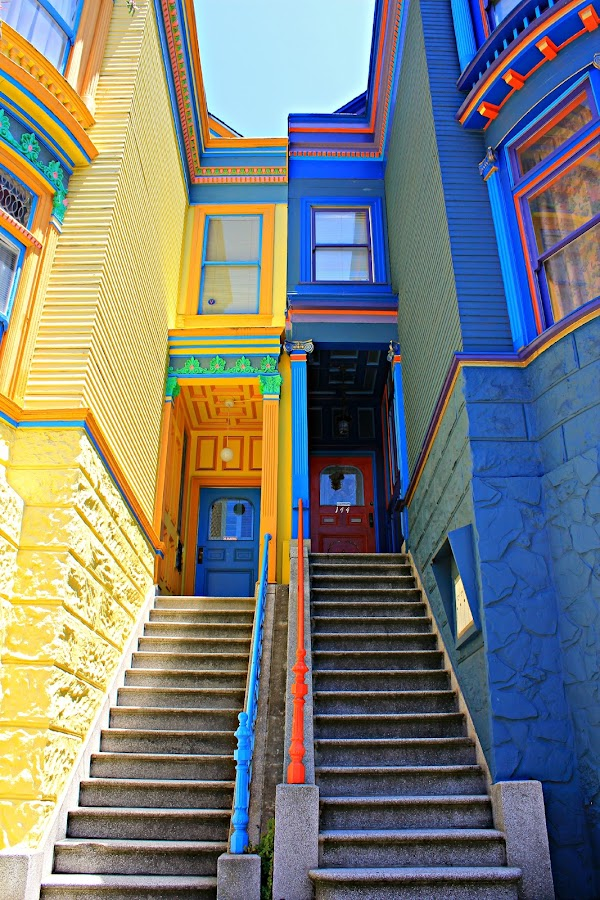 242 by Christinë Wible - Buildings & Architecture Homes ( condo, home, balance, lines, architecture, bay area, san francisco, historic )