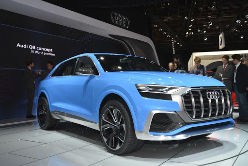 Audi Q8 Concept at NAIAS 2017
