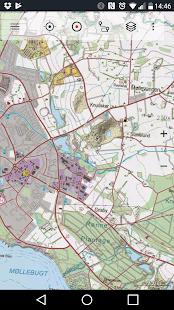 Denmark Topo Maps - náhled