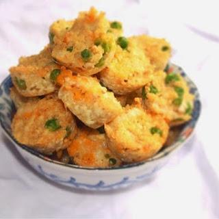 Chicken Cheddar Quinoa Bites