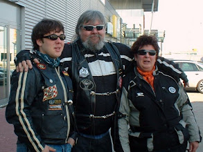 Photo: Start in Hallstadt: Die ROSCH-GANG (Frank, ROSCH & CURLY)