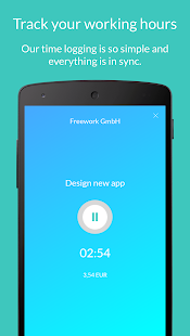 Freework - Time Tracker - náhled