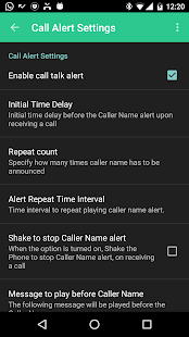 Caller Name Talker- screenshot thumbnail