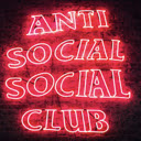 Anti Social Club New Tab Fashion Theme