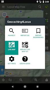 Locus Map – add-on Geocaching4Locus 4