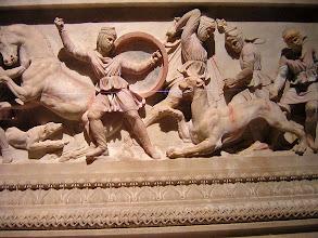 Photo: Istanbul Alexander Sarcophagus