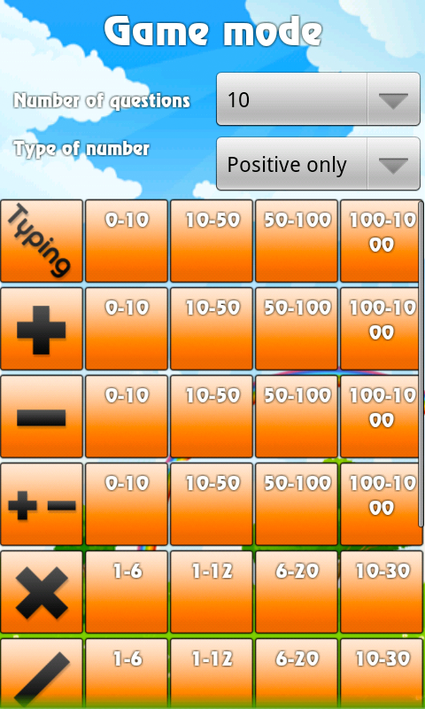Kid Math- screenshot