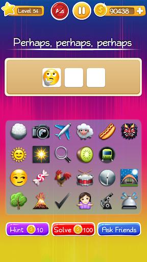 Words to Emojis u2013 Best Emoji Guessing Quiz Game screenshots 24