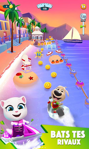 Talking Tom Jetski 2  captures d'écran 2