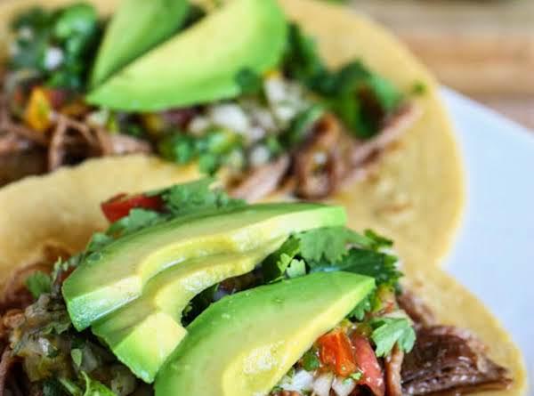 Recipe: Crock Pot Beef Carne Asada Tacos