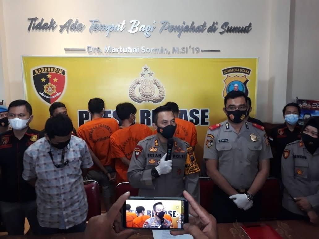 Kanit Reskrim Polsek Patumbak Pimpin Penangkapan 3 Orang Pengedar , BB Ganja 40 Kg