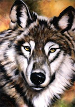 Photo: WL020 Wolf (for 18 x 24 canvas) $7.99